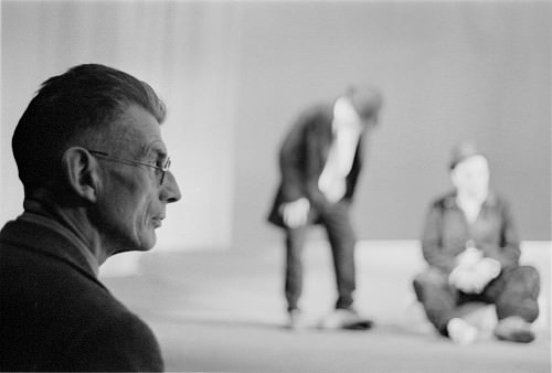 Samuel Beckett and Godot