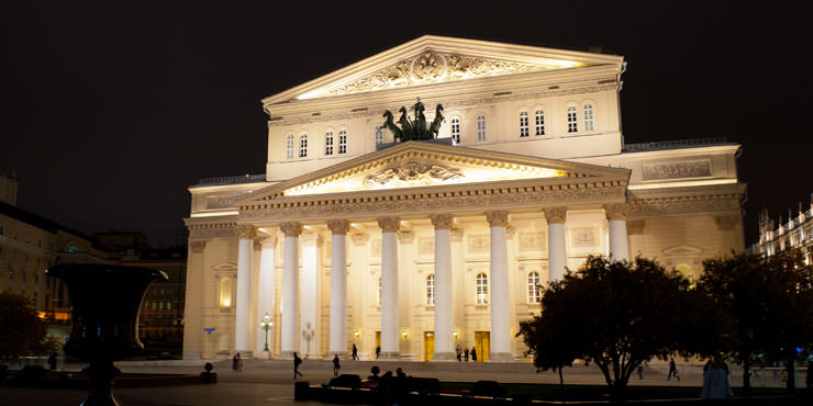 9 Moscow Bolshoi Theatre out
