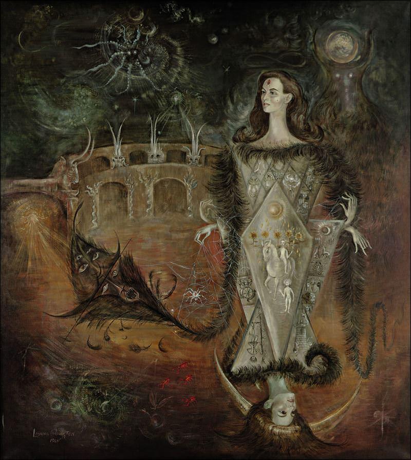 Leonora-Carrington-La-maja-del-tarot