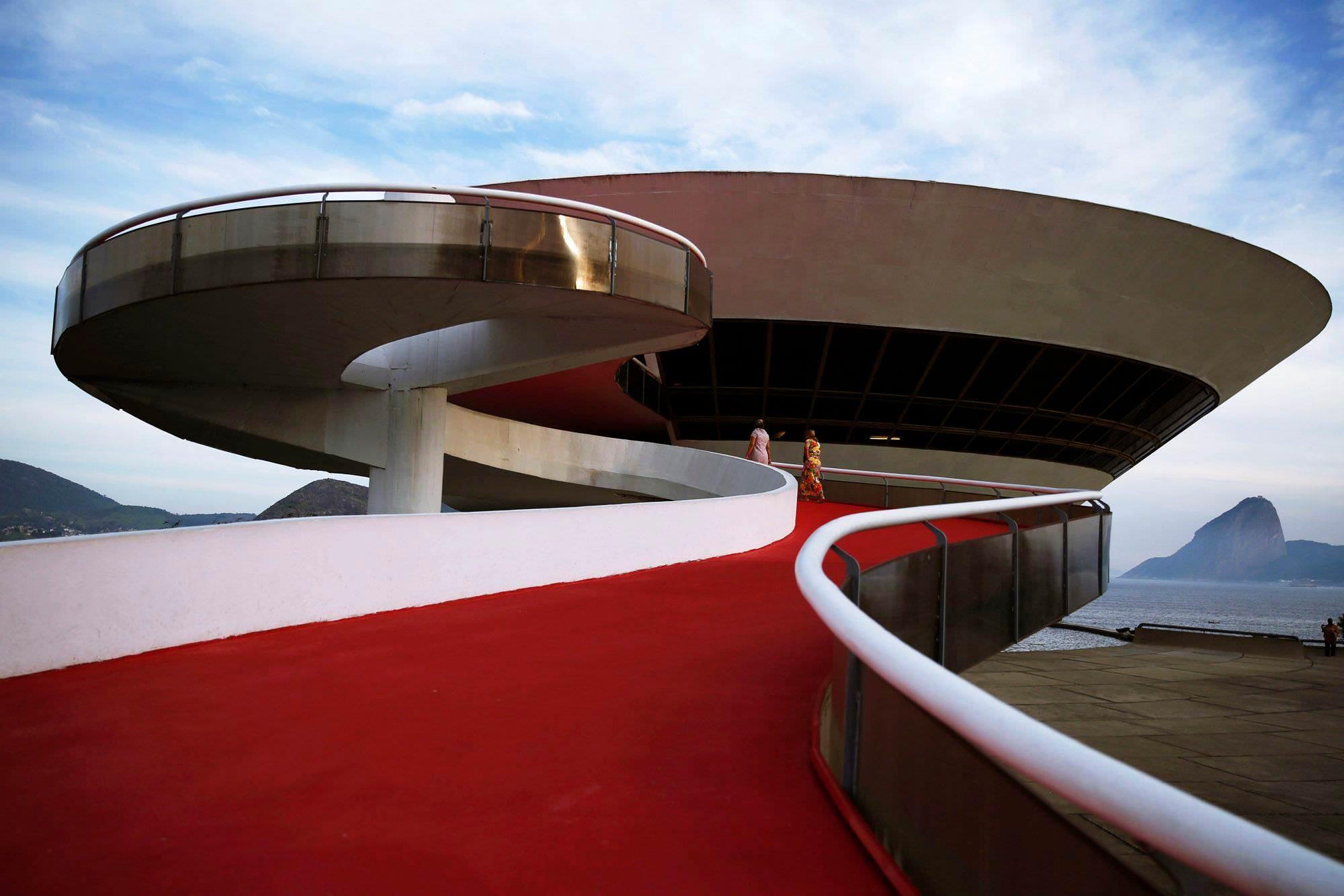 Niterol Contemporary Art Museum, Rio de Janeiro