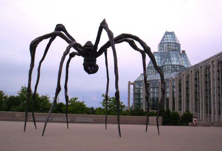 Spider Sculpture by Louise Bourgeois