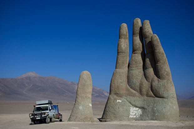 The Giant Hand, Atacama Desert, Chile