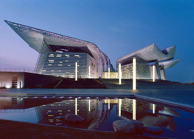 Wuxi Grand Theatre out