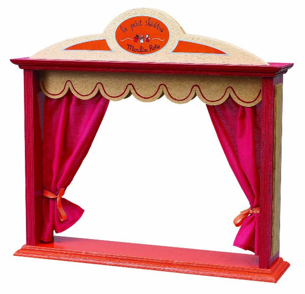 simple puppet stage