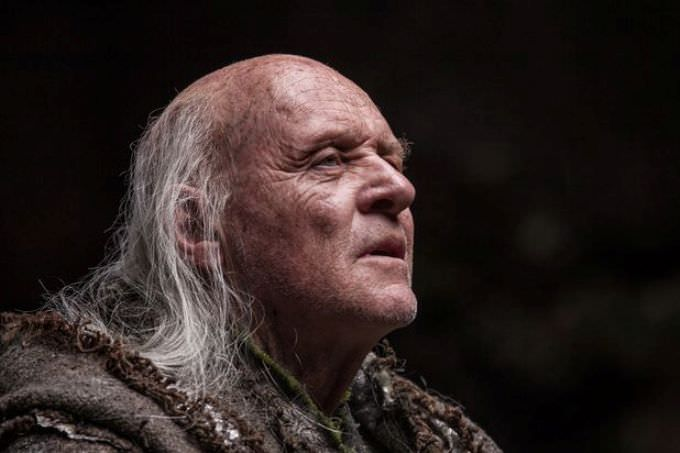 Anthony Hopkins as Methuselah in Noah, 2014