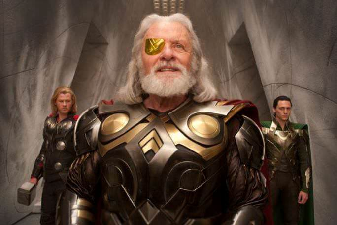 Anthony Hopkins as Odin in Thor, 2011