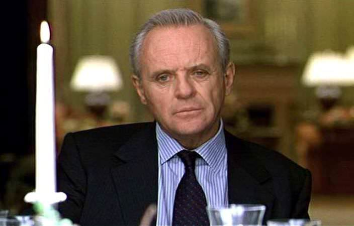 Anthony Hopkins as William Parrish in Meet Joe Black, 1999