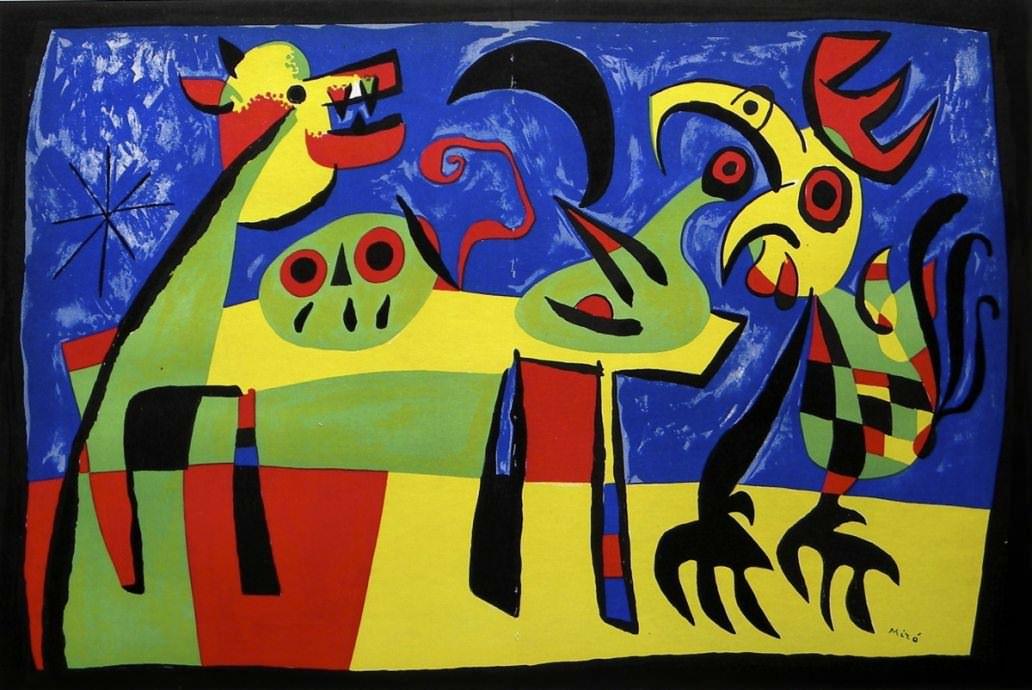 Joan Miro, Famous Spanish Surrealist Artist - World of ...  Joan