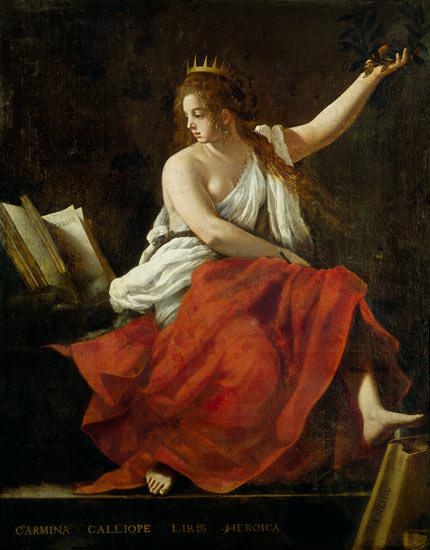 Muse Calliope - G. Baglione