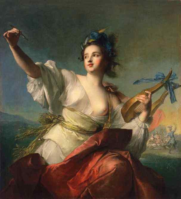Muse Terpsichore - Jean Marc Nattier, 1739