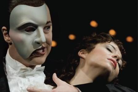 phantom of the opera acting