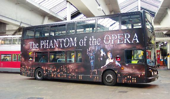 phantom of the opera bus