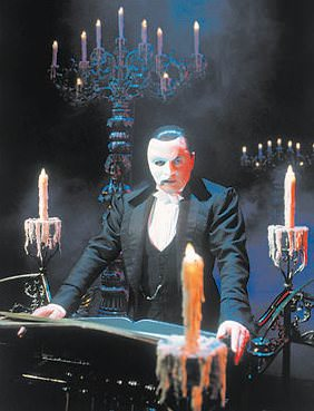 phantom of the opera the phantom