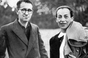 Bertolt Brecht and Helene Weigel