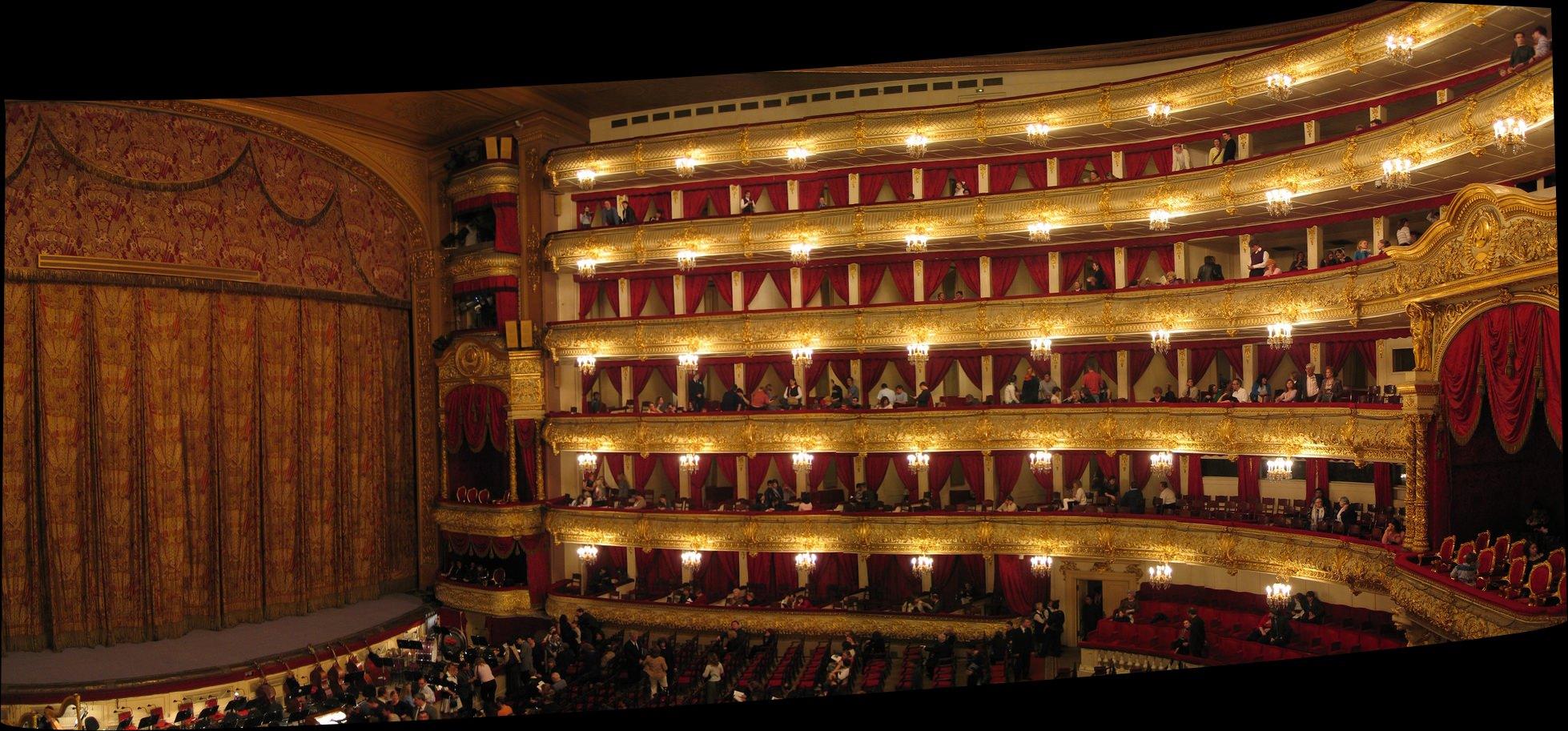 9 Moscow Bolshoi Theatre