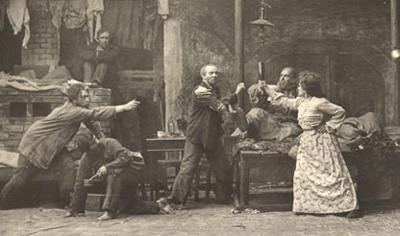 "Konstantin Stanislavski in ""Lower Depths"" with Stella Adler"