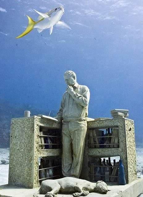 underwater sculptures 11