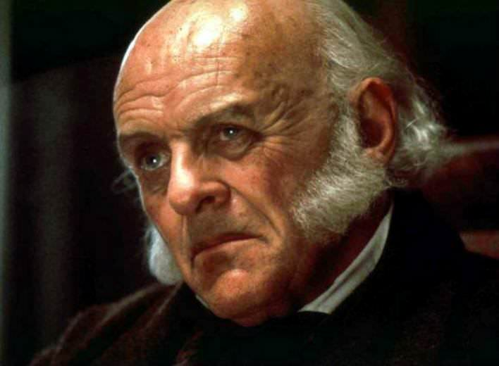Anthony Hopkins as John Quincy Adams in Amistad, 1997