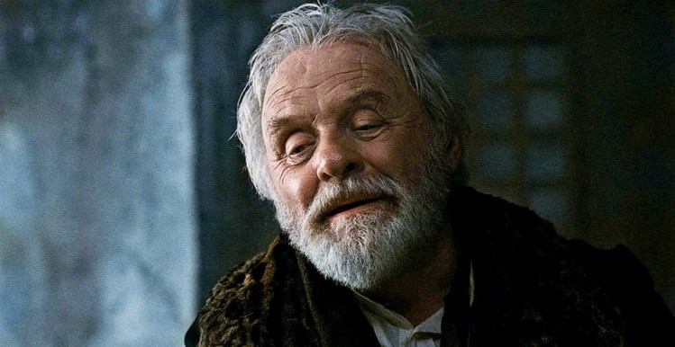 Anthony Hopkins as Sir John Talbot in The Wolfman, 2010