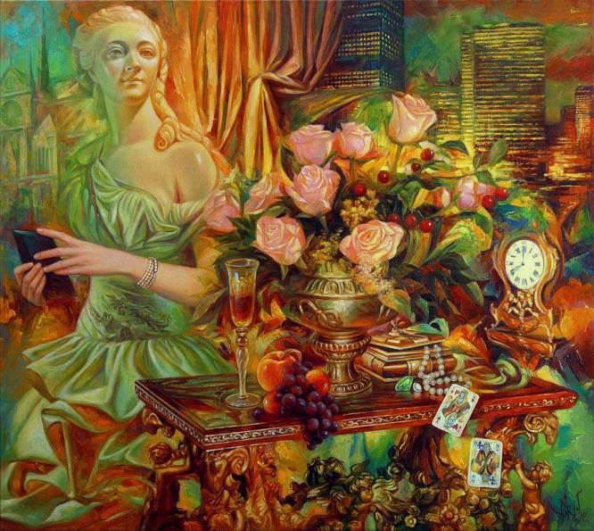 Madame Du Barry by Yury Fomichev