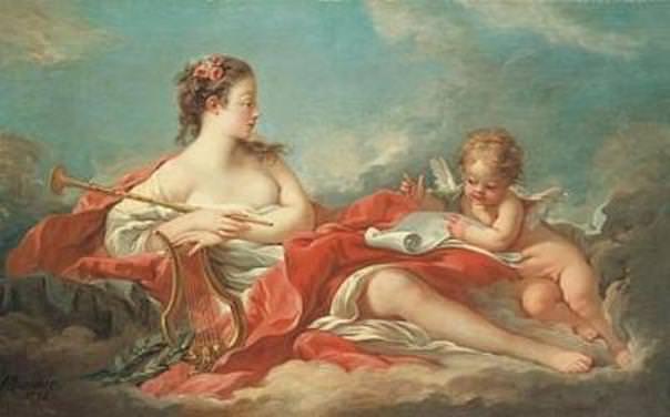 Muse Erato - Boucher