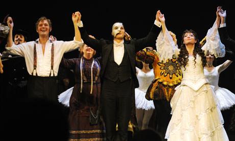 Phantom of the Opera cast